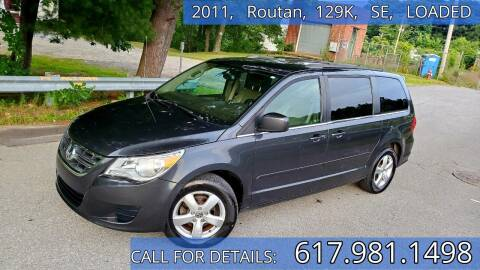 2011 Volkswagen Routan for sale at Wheeler Dealer Inc. in Acton MA