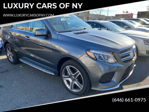2017 Mercedes-Benz GLE for sale at LUXURY CARS OF NY in Queens NY
