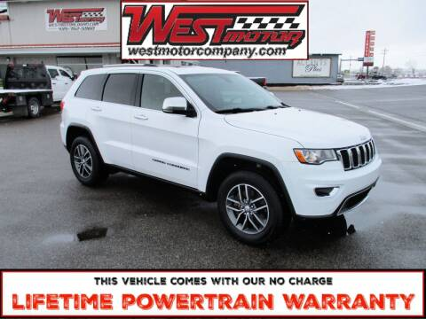 2018 Jeep Grand Cherokee for sale at West Motor Company in Preston ID