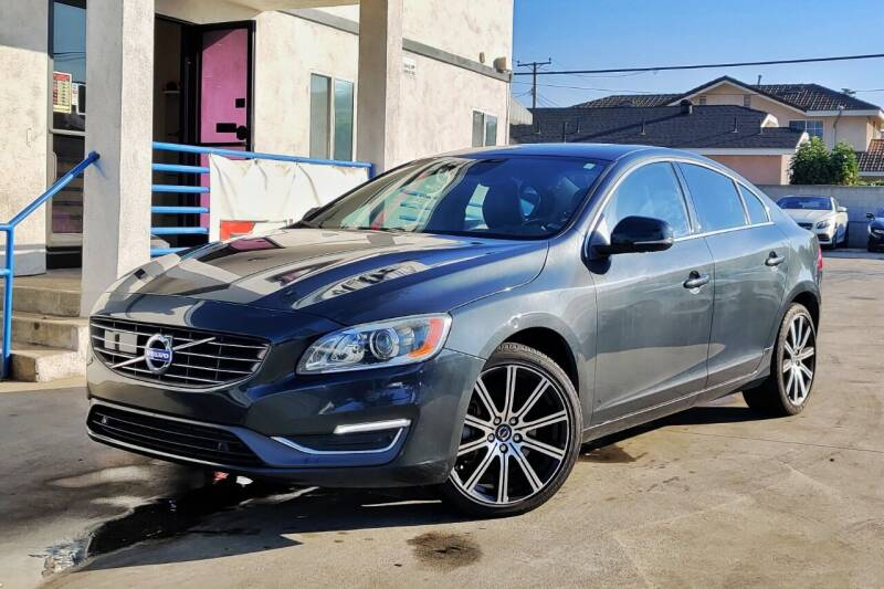 2015 Volvo S60 for sale at Fastrack Auto Inc in Rosemead CA