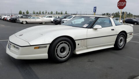 1984 Chevrolet Corvette for sale at Quality Auto Outlet in Vista CA