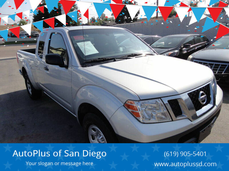 2016 Nissan Frontier for sale at AutoPlus of San Diego in Spring Valley CA