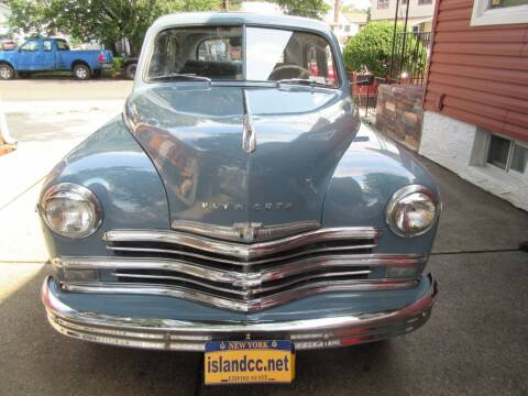 1949 Plymouth Deluxe for sale at Island Classics & Customs in Staten Island NY