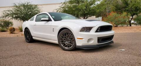 2014 Ford Shelby GT500 for sale at AZ WORK TRUCKS AND VANS in Mesa AZ