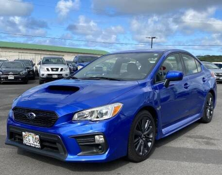 2020 Subaru WRX for sale at PONO'S USED CARS in Hilo HI