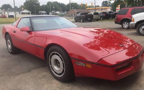 1987 Chevrolet Corvette for sale at Creekside Automotive in Lexington NC