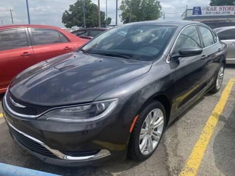 2016 Chrysler 200 for sale at The Kar Store in Arlington TX