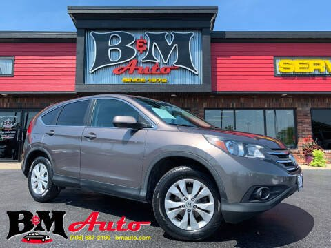 2013 Honda CR-V for sale at B & M Auto Sales Inc. in Oak Forest IL