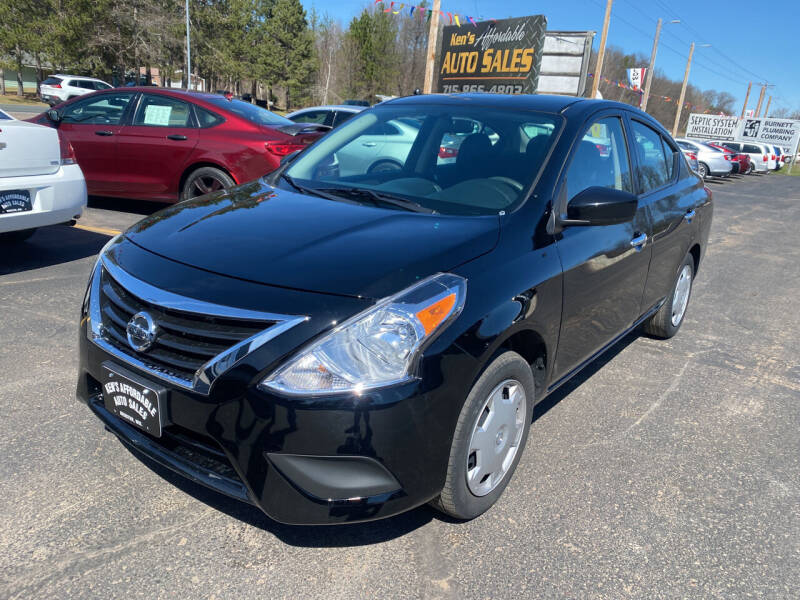 2018 Nissan Versa for sale at Affordable Auto Sales in Webster WI