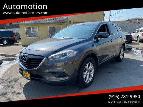 2014 Mazda CX-9 for sale at Automotion in Roseville CA