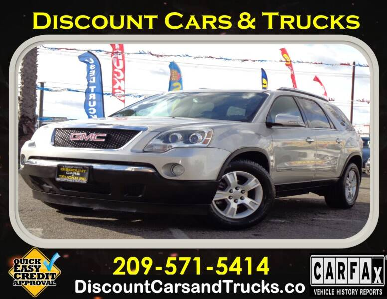 2007 GMC Acadia for sale at Discount Cars & Trucks in Modesto CA