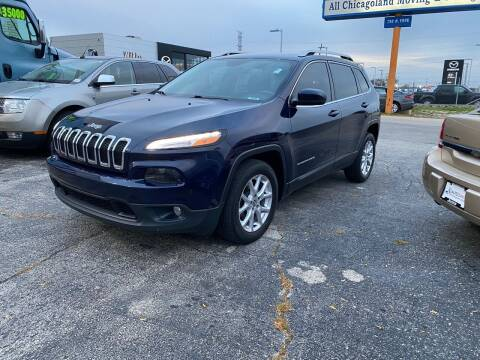 2016 Jeep Cherokee for sale at AUTOSAVIN in Elmhurst IL