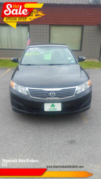 2010 Kia Optima for sale at Shamrock Auto Brokers, LLC in Belmont NH