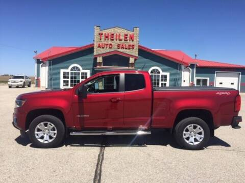 2019 Chevrolet Colorado for sale at THEILEN AUTO SALES in Clear Lake IA