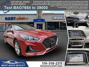2018 Hyundai Sonata for sale at Best Auto Outlet in Floral Park NY
