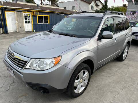 2010 Subaru Forester for sale at FJ Auto Sales in North Hollywood CA