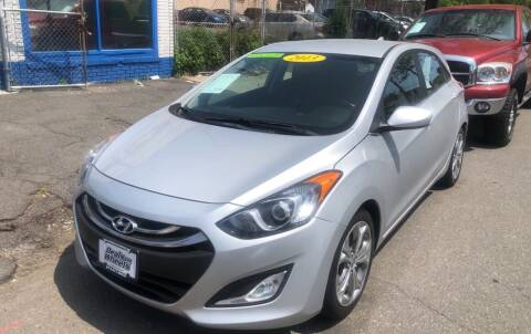 2013 Hyundai Elantra GT for sale at DEALS ON WHEELS in Newark NJ