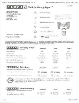 2010 BMW 5 Series for sale at Legend Auto Sales Inc in Lemon Grove CA