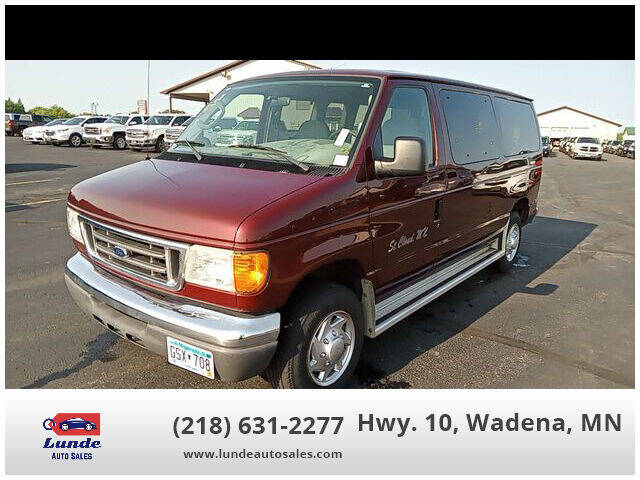 2007 Ford E-Series Wagon for sale in Wadena, MN