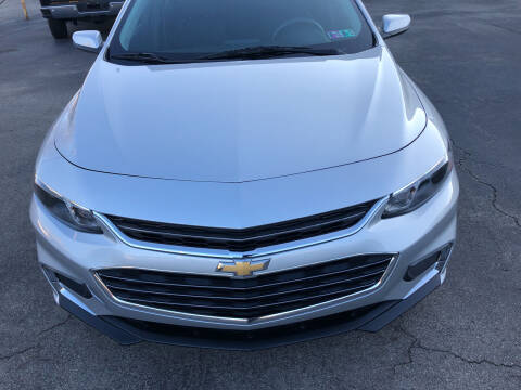 2017 Chevrolet Malibu for sale at Berwyn S Detweiler Sales & Service in Uniontown PA