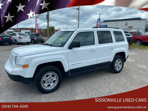 2015 Jeep Patriot for sale at Sissonville Used Cars in Charleston WV