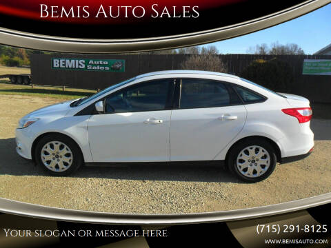 2012 Ford Focus for sale at Bemis Auto Sales in Crivitz WI
