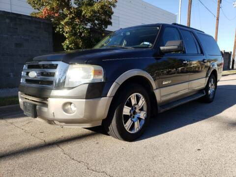 2007 Ford Expedition EL for sale at ZNM Motors in Irving TX