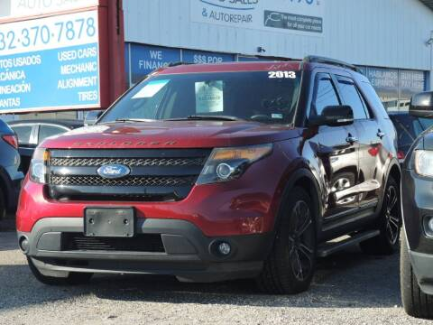 2013 Ford Explorer for sale at My Car Auto Sales in Lakewood NJ