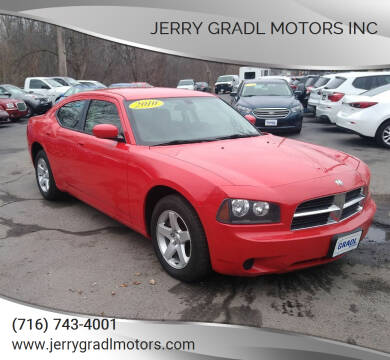 2010 Dodge Charger for sale at JERRY GRADL MOTORS INC in North Tonawanda NY