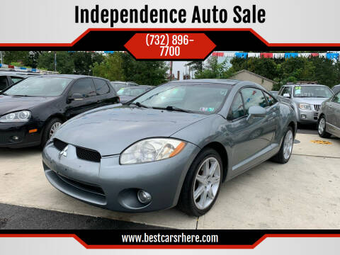 2007 Mitsubishi Eclipse for sale at Independence Auto Sale in Bordentown NJ