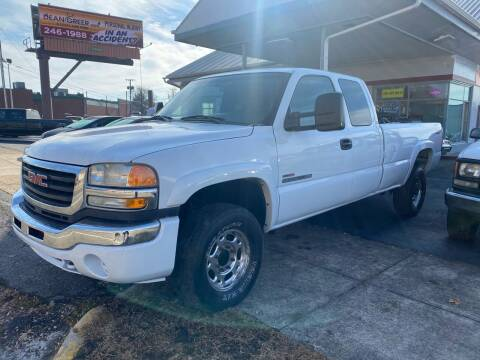 2003 GMC Sierra 2500HD for sale at All American Autos in Kingsport TN