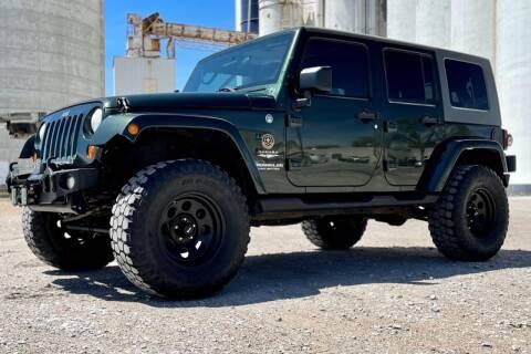 2010 Jeep Wrangler Unlimited for sale at Island Auto Off-Road & Sport in Grand Island NE