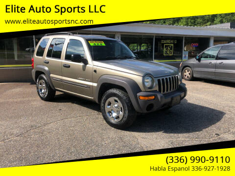 2003 Jeep Liberty for sale at Elite Auto Sports LLC in Wilkesboro NC
