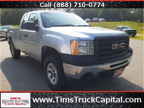 2013 GMC Sierra 1500 for sale at TTC AUTO OUTLET/TIM'S TRUCK CAPITAL & AUTO SALES INC ANNEX in Epsom NH