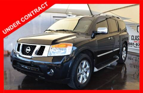 2012 Nissan Armada for sale at 1st Class Motors in Phoenix AZ