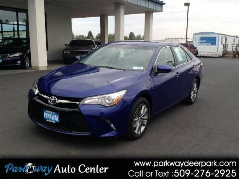 2016 Toyota Camry for sale at PARKWAY AUTO CENTER AND RV in Deer Park WA