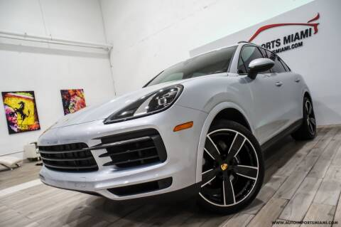 2019 Porsche Cayenne for sale at AUTO IMPORTS MIAMI in Fort Lauderdale FL