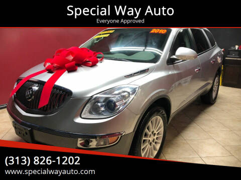 2010 Buick Enclave for sale at Special Way Auto in Hamtramck MI