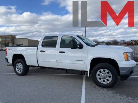 2014 GMC Sierra 2500HD for sale at INDY LUXURY MOTORSPORTS in Fishers IN