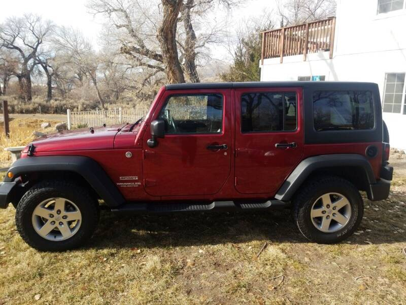 2012 Jeep Wrangler Unlimited for sale at Freds Auto Sales LLC in Carson City NV