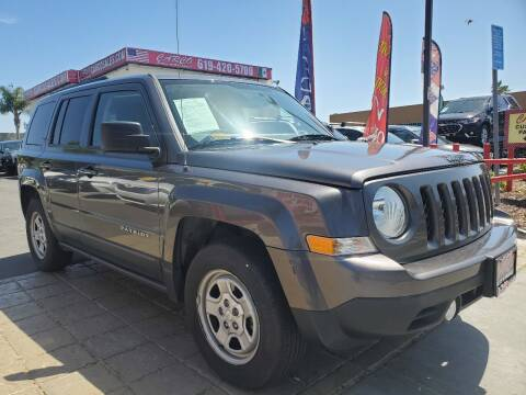 2016 Jeep Patriot for sale at CARCO SALES & FINANCE - CARCO OF POWAY in Poway CA