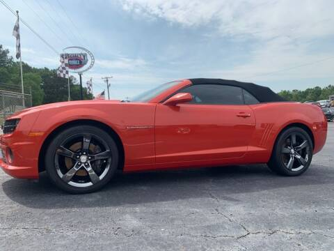 2011 Chevrolet Camaro for sale at Specialty Ridez in Pendleton SC