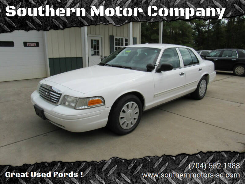 2009 Ford Crown Victoria for sale at Southern Motor Company in Lancaster SC