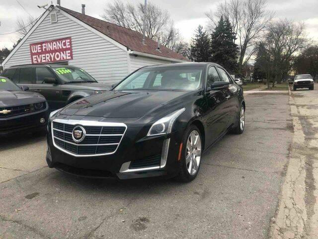 2014 Cadillac CTS for sale at Mastro Motors in Garden City MI
