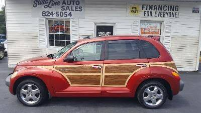 2001 Chrysler PT Cruiser for sale at STATE LINE AUTO SALES in New Church VA