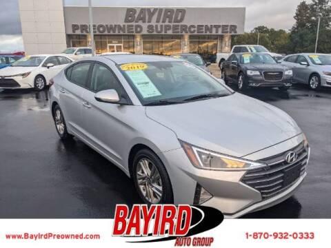 2019 Hyundai Elantra for sale at Bayird Truck Center in Paragould AR