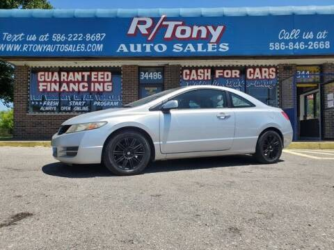 2010 Honda Civic for sale at R Tony Auto Sales in Clinton Township MI