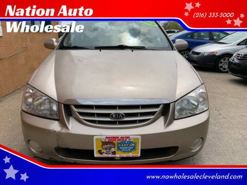 2005 Kia Spectra for sale at Nation Auto Wholesale in Cleveland OH