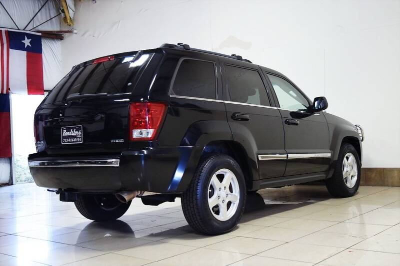 2006 Jeep Grand Cherokee Limited 4dr SUV 4WD w/ Front Side Airbags - Houston TX