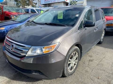 2012 Honda Odyssey for sale at Drive Deleon in Yonkers NY